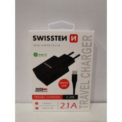 Chargeur 2 Ports USB 2.1A +...