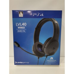 Casque PDP LVL40 Grey PS4