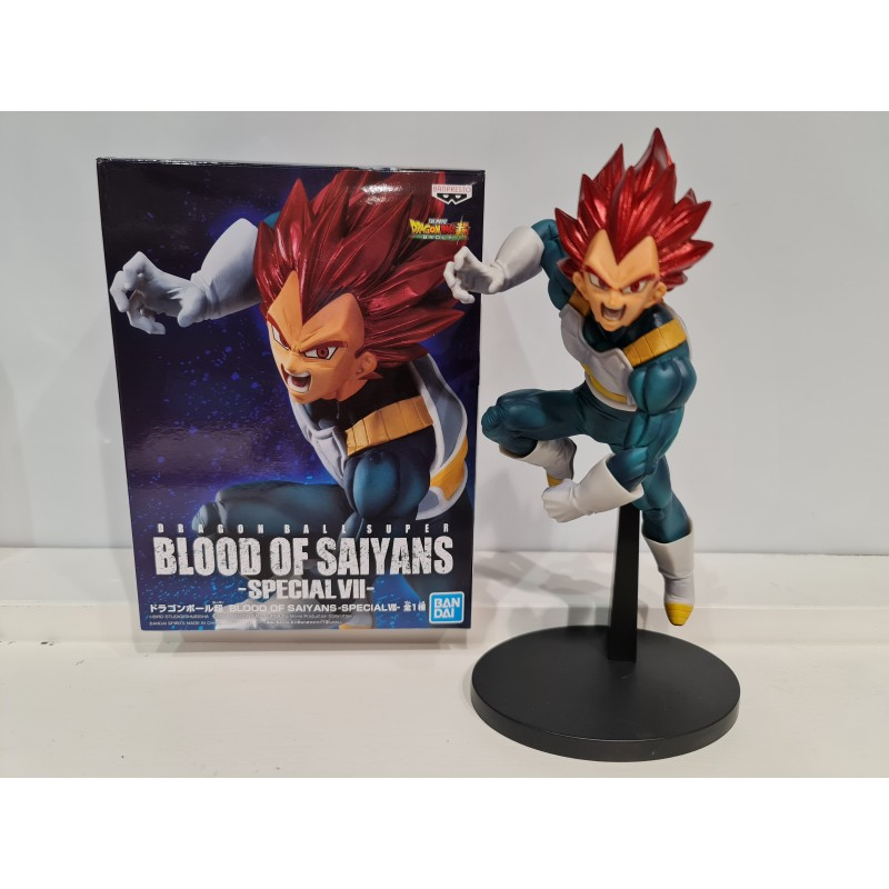 Figurine Dragon Ball Vegeta God 15cm NEUF