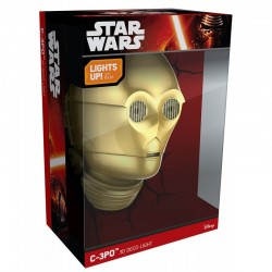 Lampe D'Ambiance Star Wars C3-PO NEUF
